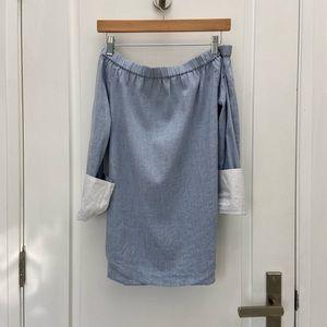 rag & bone off the shoulder blouse size xs
